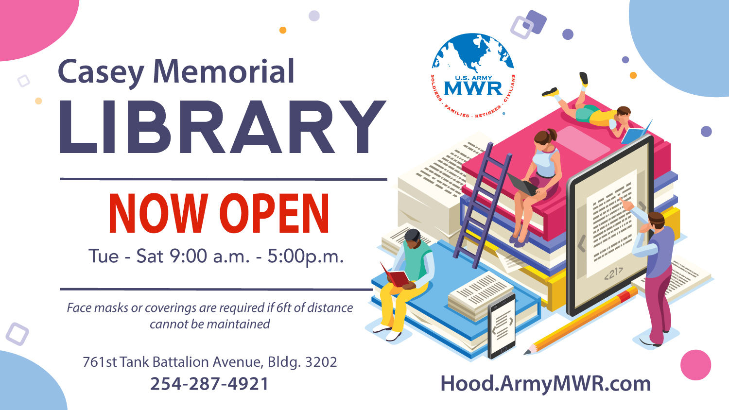 Casey Memorial Library Reopening