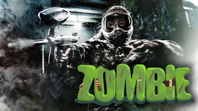Zombie Fright Night Paintball