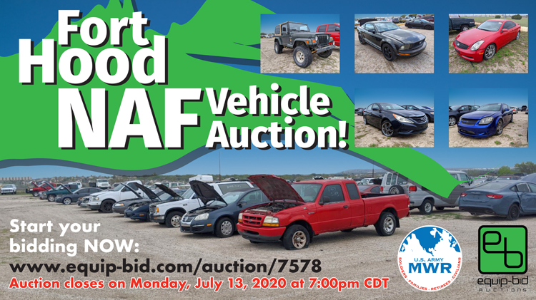 Fort Hood NAF Vehicle Auction