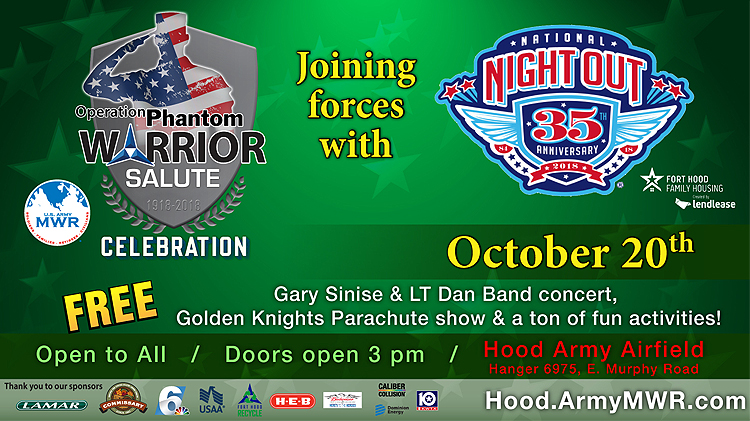 Operation Phantom Warrior Salute Celebration