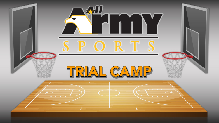 All-Army Basketball Trial Camp