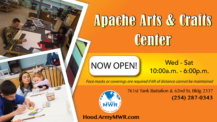 Apache Arts and Crafts is Open