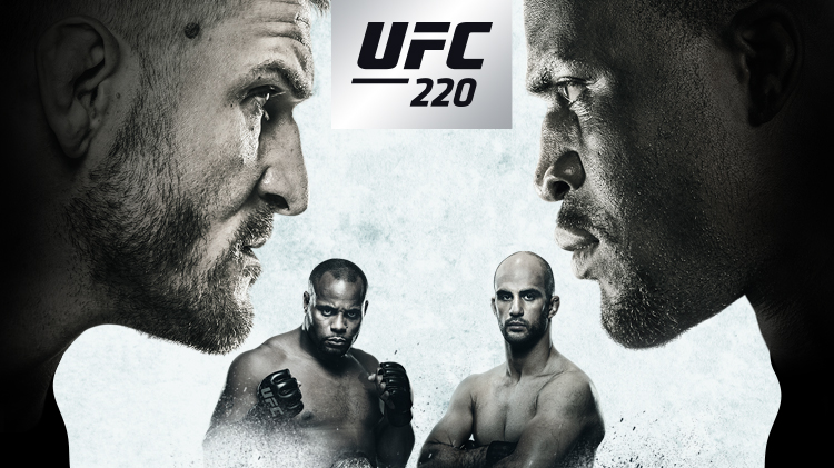 UFC 220 Fight Night Watch Party
