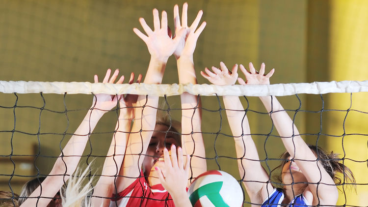 Volleyball: Intramural Sports Registration