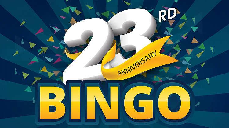 22nd Anniversary Bingo Celebration