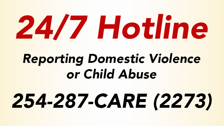 Reporting Domestic Violence or Child Abuse