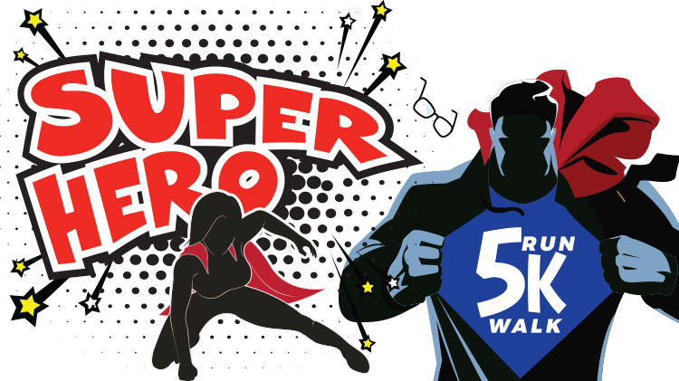 Super Hero 5K Run / Walk